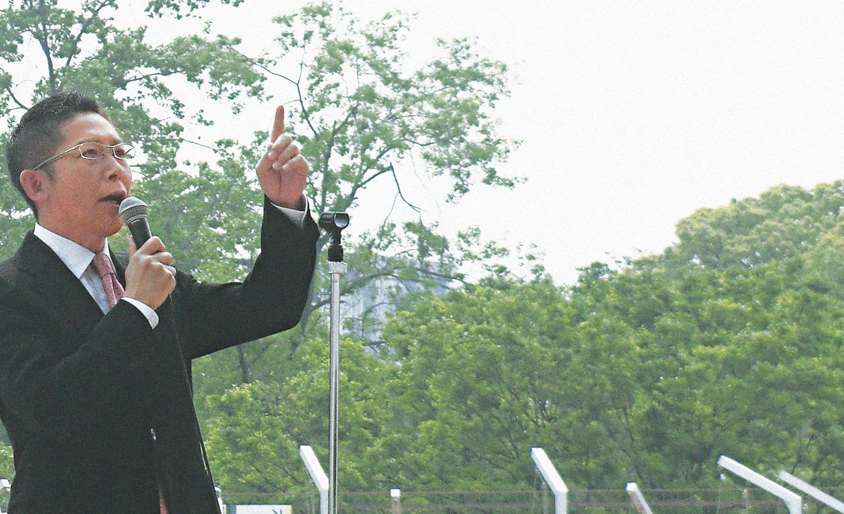 中川たかもと(演説)